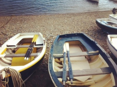 boats in Cadaques